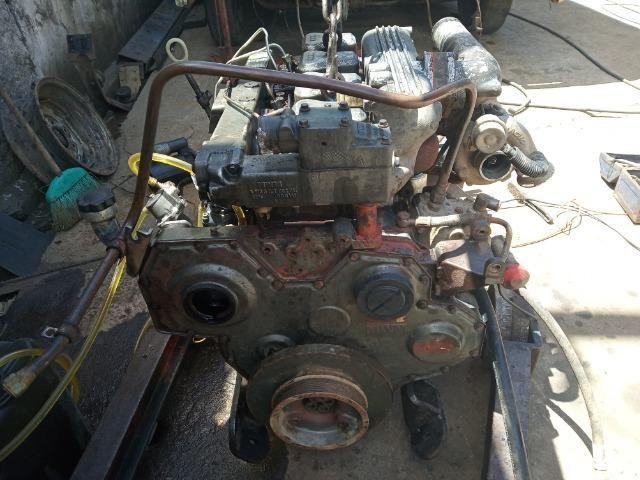 Bloco Limpo do Motor 04 Cil Mwm Série X10 F1000 F4000 - Foto 2