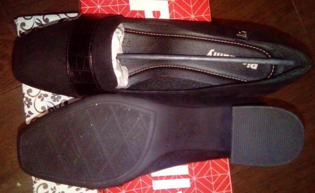 72763c31de Sapato Social Camurça Preto Piccadilly n 39 - Roupas e calçados ...