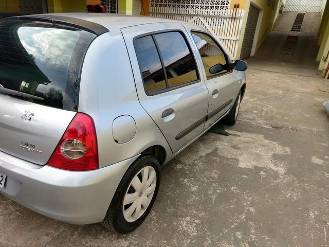 Clio Authentique 1.0 16V 2007 - Foto 4