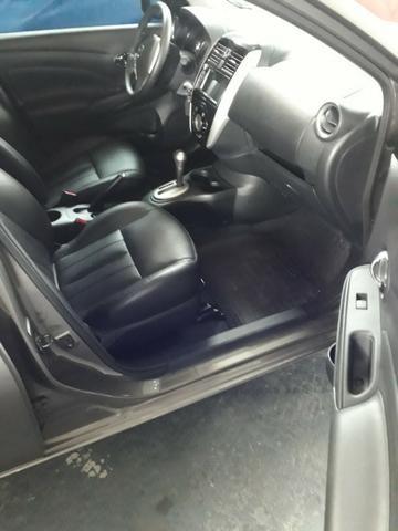 Nissan versa SL 1.6 CVT FLEX C/ 9000 MIL KM - Foto 8