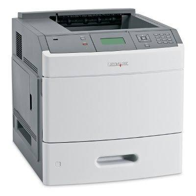 Impressora laser preto e branco Lexmark T652 usada