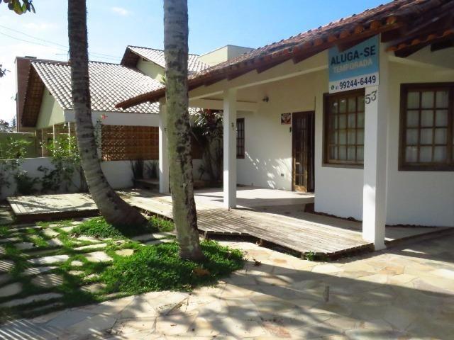Casa com piscina em Itapoá ,3 quartos(1 suíte), ar, wifi, monit. 24h, 60 metros da praia - Foto 4