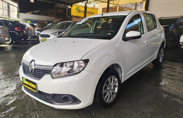 Renault Sandero 1.0 Expression 8mil km 2020 (2mil entrada 60x 999) - Foto 6