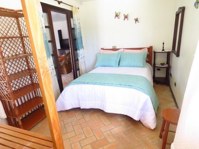 Casa com piscina em Itapoá ,3 quartos(1 suíte), ar, wifi, monit. 24h, 60 metros da praia - Foto 17