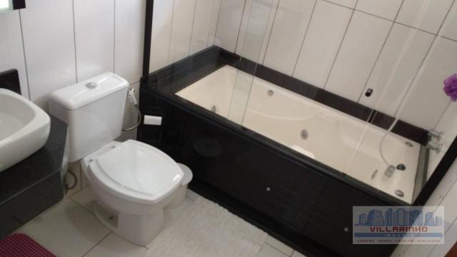 Villarinho vende excelente casa com 3 suítes c/piscina, 2 vagas- 223 m² por r$ 650.000,00  - Foto 16