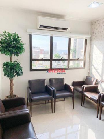 Sala à venda, 78 m² por R$ 590.000,00 - Gonzaga - Santos/SP - Foto 9