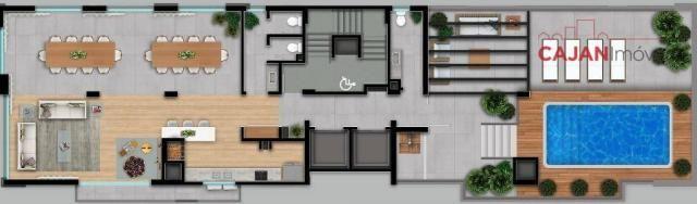 Apartamento de 3 dormitórios com 2 vagas de garagem no bairro Auxiliadora - Foto 6