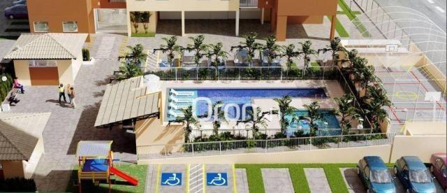 Apartamento com 2 dormitórios à venda, 54 m² por R$ 181.000,00 - Parque Oeste Industrial - - Foto 2