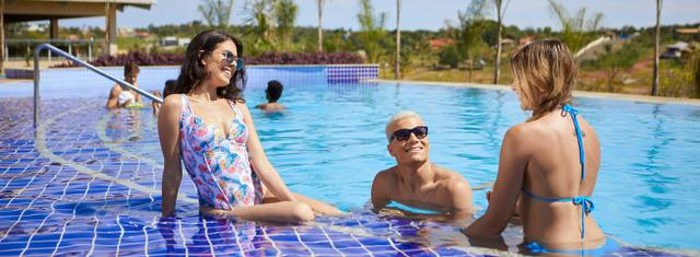 Caldas Novas 7 dias no Eco Resort Ilhas dos Lagos! Apenas R$ 800,00 Data: 12/04 a 16/04 - Foto 5