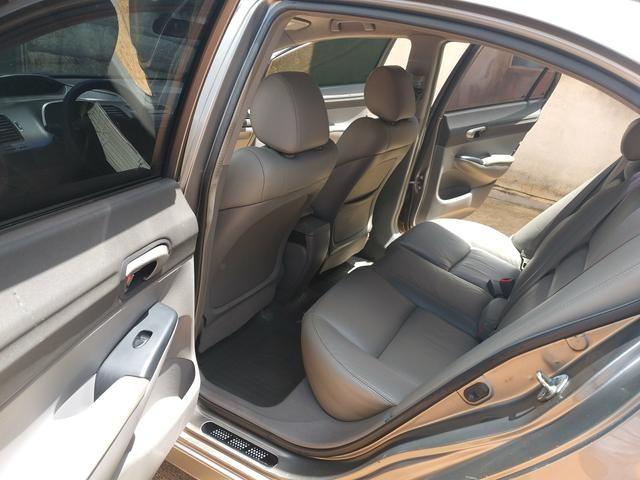 Vende-se Honda Civic Plaza LXS 09/10 1.8 Flex - Foto 9