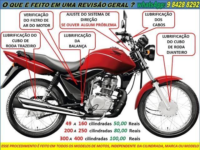 Revisão geral de moto a domicilio a partir 50,00 Reais - Foto 2