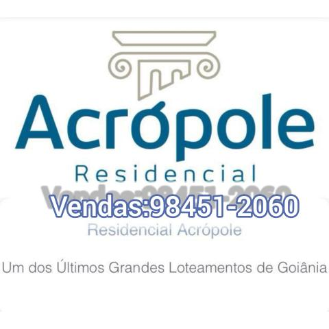 Residêncial Acrópole Loteamento em Goiânia - Foto 8