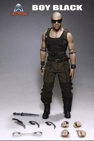 Boneco Riddick - Boy Black - Artfigures