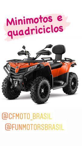Quadriciclo cforce 520