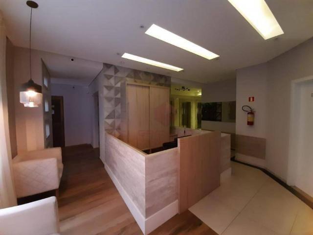 Apartamento com 1 dormitório para alugar, 45 m² por R$ 1.350,00/mês - Zona 07 - Maringá/PR - Foto 3