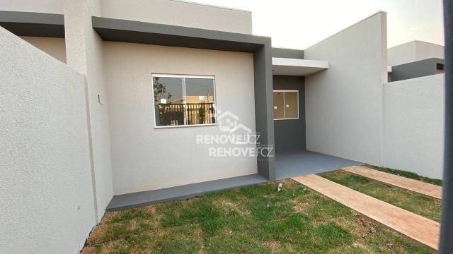 Casa com 2 dormitórios para alugar, 50 m² por R$ 1.150,00/mês - Jardim Residencial Catarat - Foto 2