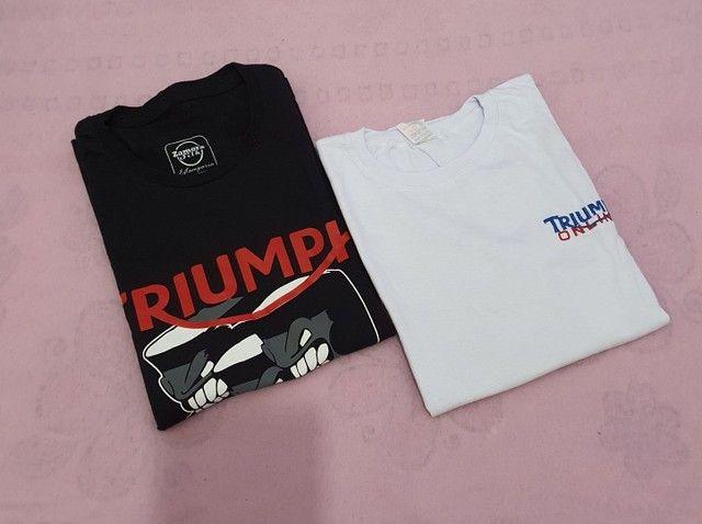 Duas Camisas baby look feminina Triumph M - Foto 4