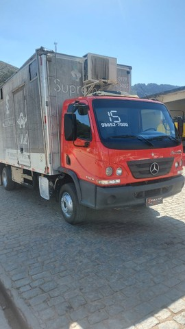 Mercedes benz 1016 - Bau para 5 cavalos - Foto 3
