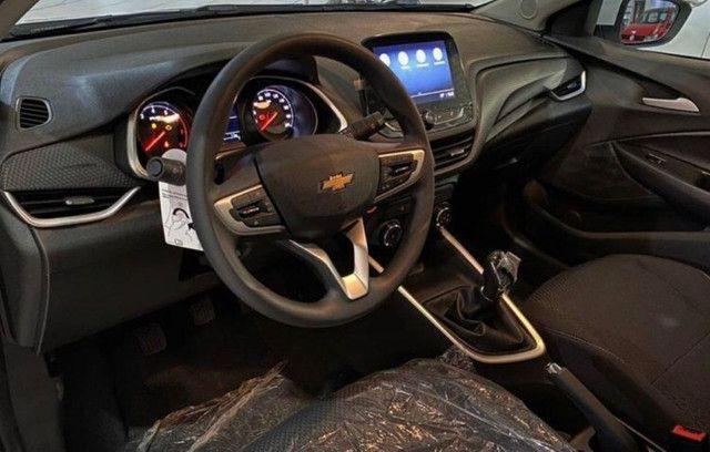 Chevrolet Onix LT Aspirado 1.0 Manual A Pronta Entrega Entrada + 999 Mensais !!! - Foto 4