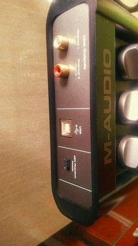 Interface de áudio M-áudio