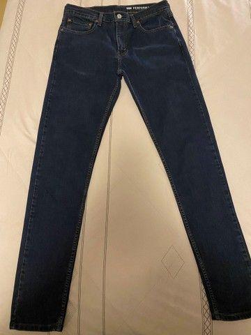 calça jeans levis 512 - Foto 6