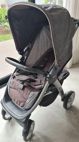 Chicco Bravo Carrinho Bebê Conforto Travel System 3 Em 1 - Foto 3