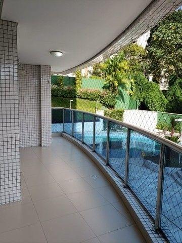 (Condomínio Bellagio) apartamento c/ 3 suítes + 147m², mobiliado - Foto 5