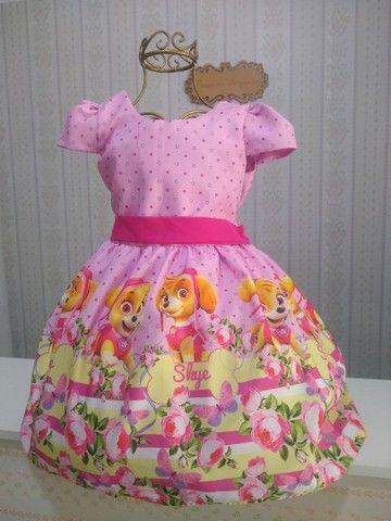 Vestido temático infantil  - Foto 3