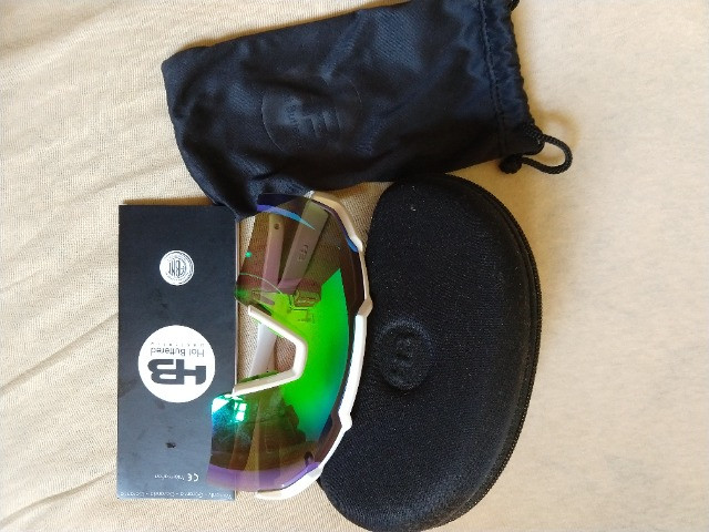 Óculos HB Shield white - Foto 3