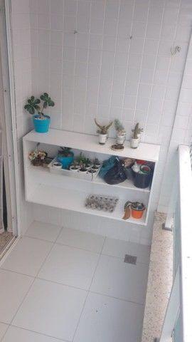 Apartamento em Intemares com 3 quartos e varanda. Pronto para morar