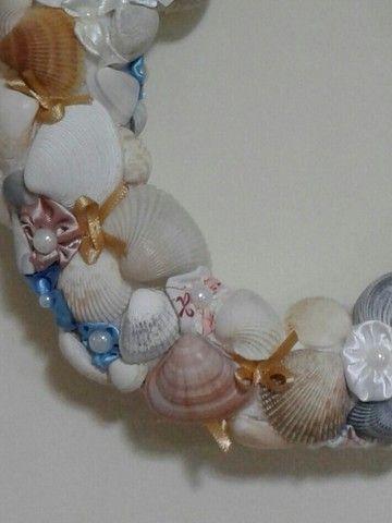 Guirlanda conchas do mar - Foto 3