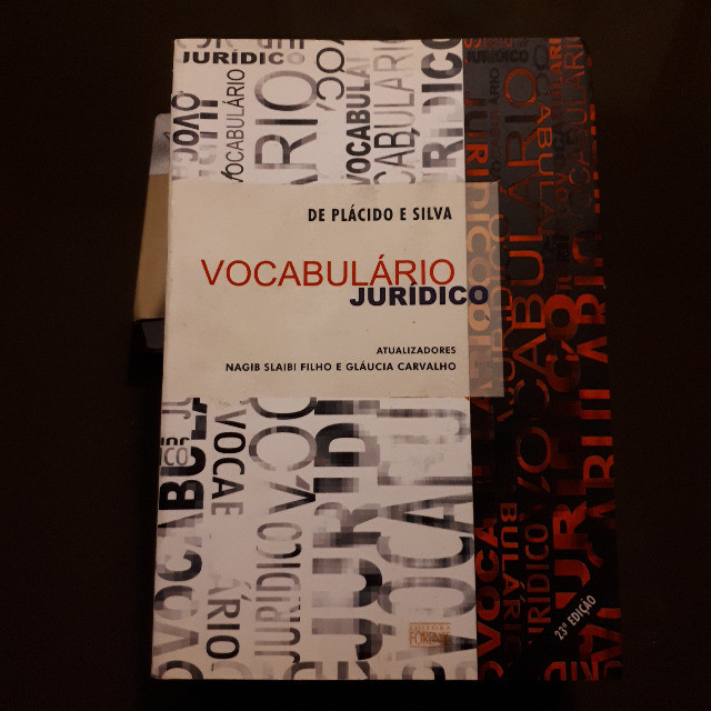 Vocabulário Juridico