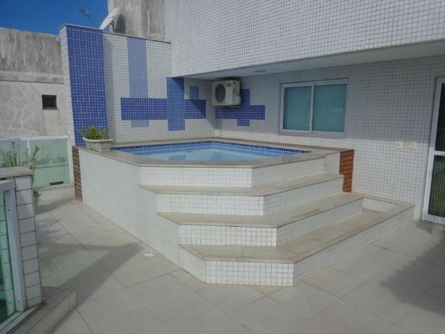 Cobertura C/piscina e churrasqueira p/ 15 pessoas, 3 Suítes C/Ar cond - Foto 13