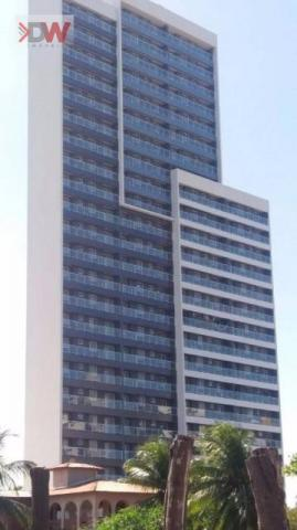 Apartamento em Ponta Negra, 2 quartos sendo 1 suíte
