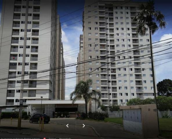 Apartamento no condomínio Parque do Sol com 62 mts 2 dorm 1 vaga na Ponte Grande