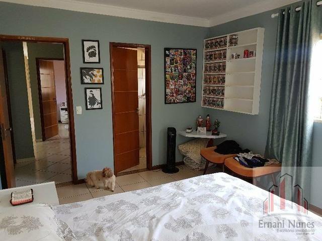 Linda Casa 3 sts Rua 8 Lt 800 mts Ernani Nunes - Foto 15