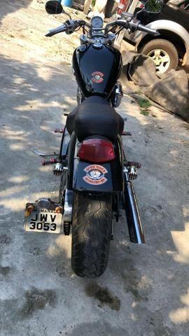 Moto Shadow 600 - Troco por XRE 300 - Foto 2