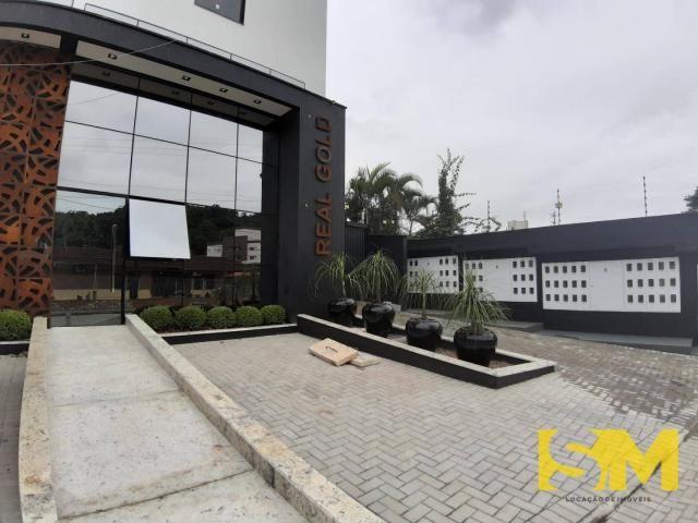 Apartamento com 2 dormitórios para alugar, 72 m² por R$ 1.700/mês - Bom Retiro - Joinville - Foto 2