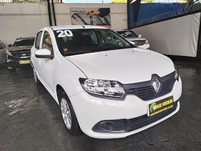 Renault Sandero 1.0 Expression 8mil km 2020 (2mil entrada 60x 999)