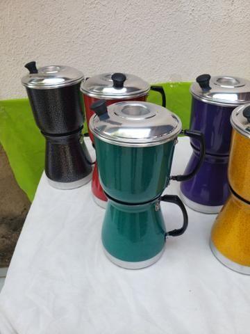 Cafeteira coloridas - Foto 2