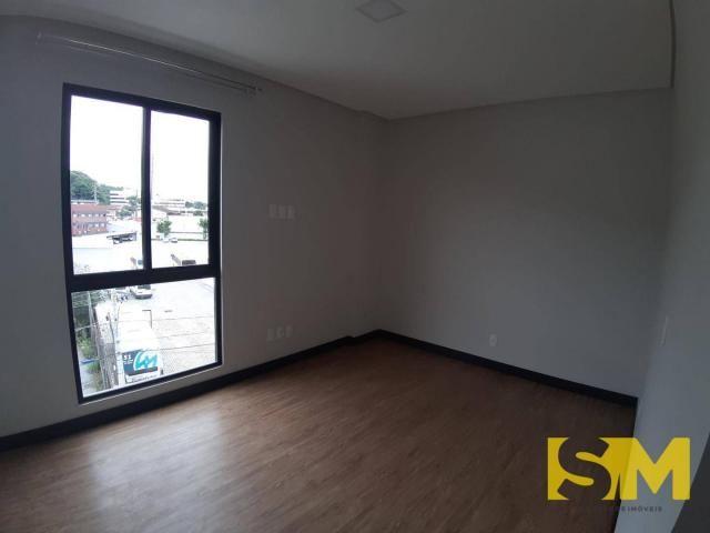 Apartamento com 2 dormitórios para alugar, 72 m² por R$ 1.700/mês - Bom Retiro - Joinville - Foto 13