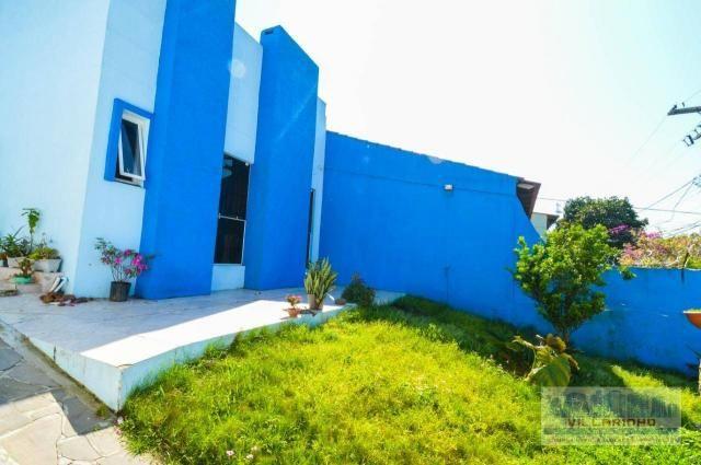 Villarinho vende casa com 3 dormitórios, 1 suíte,124 m² aréa const- terreno 300m² -600.000