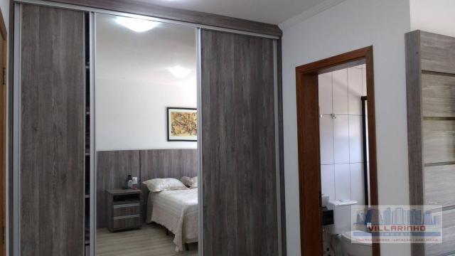 Villarinho vende excelente casa com 3 suítes c/piscina, 2 vagas- 223 m² por r$ 650.000,00  - Foto 15