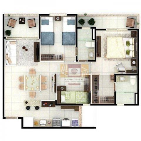 Apartamento no Portal de Ávila com 3 dormitórios à venda, 73 m² por R$ 414.000 - Cidade do - Foto 20