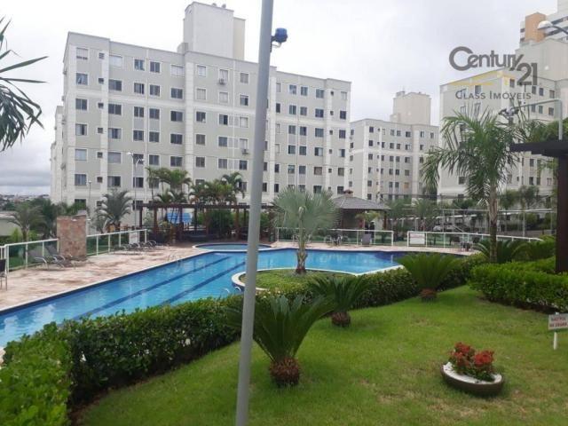 Apartamento com 2 dormitórios para alugar, 45 m² - Gleba Fazenda Palhano - Londrina/PR - Foto 9
