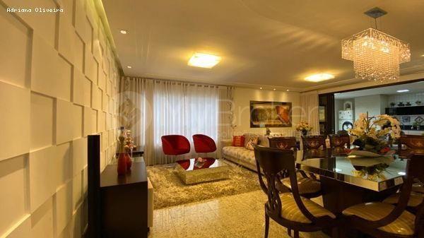 Apartamento para Venda em Goiânia, Setor Bueno, 4 dormitórios, 4 suítes, 5 banheiros, 3 va