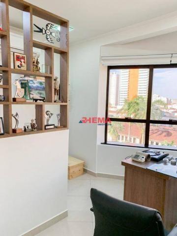 Sala à venda, 78 m² por R$ 590.000,00 - Gonzaga - Santos/SP - Foto 2