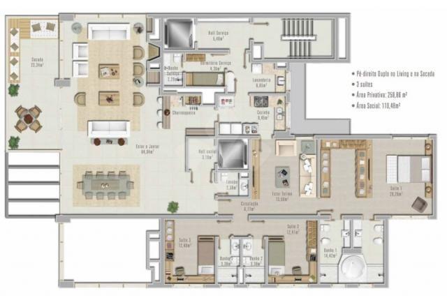 Apartamento à venda com 3 dormitórios em Petrópolis, Porto alegre cod:8537 - Foto 19