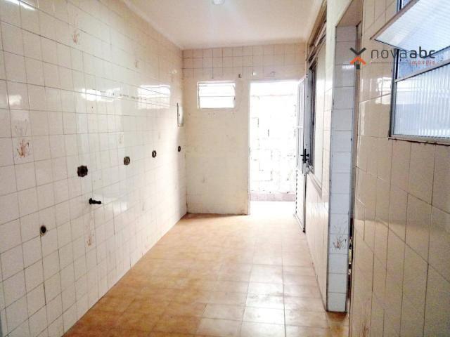 Sobrado com 4 dormitórios para alugar, 260 m² por R$ 4.500,00/mês - Vila Homero Thon - San - Foto 14
