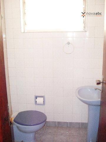 Sobrado com 4 dormitórios para alugar, 260 m² por R$ 4.500,00/mês - Vila Homero Thon - San - Foto 6